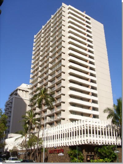 Marine Surf Waikiki Facade, 364 Seaside Avenue, Honolulu, HI 96815