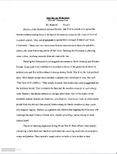 Holocaust research paper. Custom Paper Writing Service - waikikiview ...
